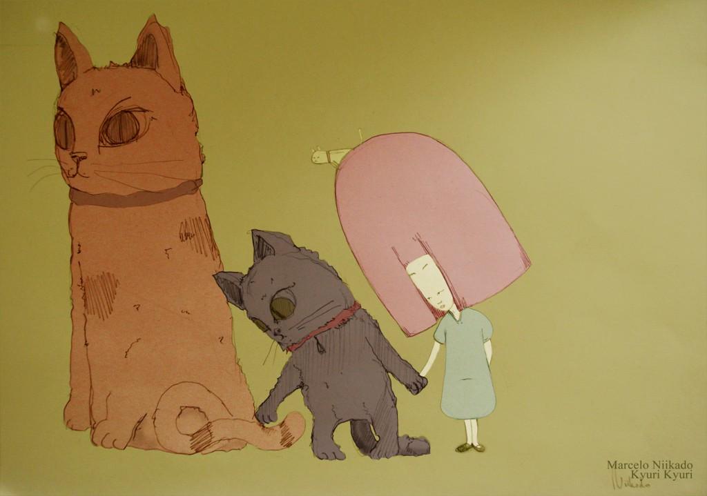 10- Ilustracion touching a tail