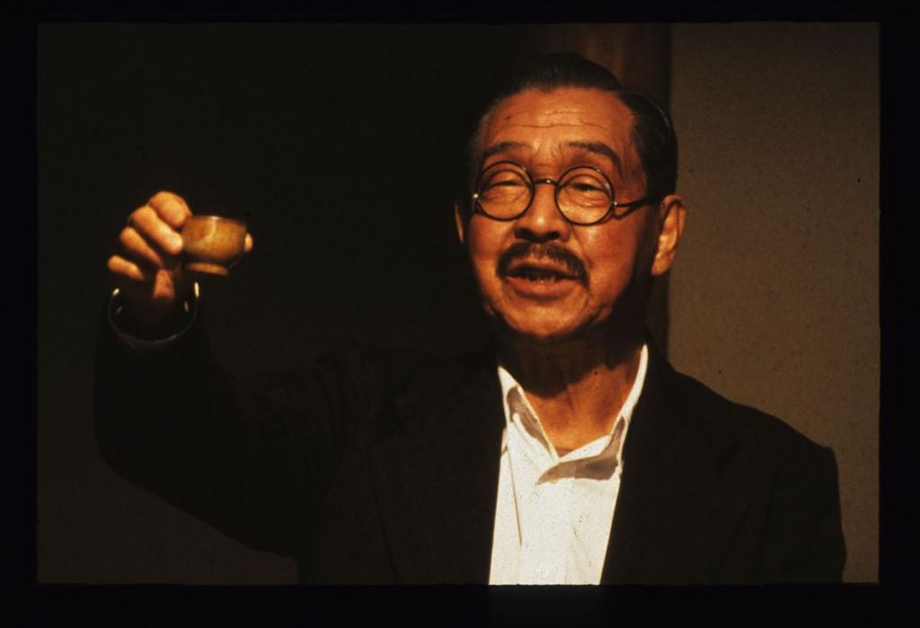 """El profesor Uchida, el querido protagonista de """"Mādadayo""""."""